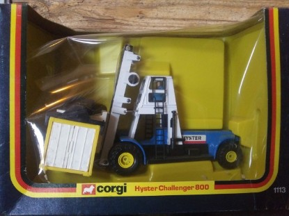 Picture of Hyster 800 container lift  - blue/white