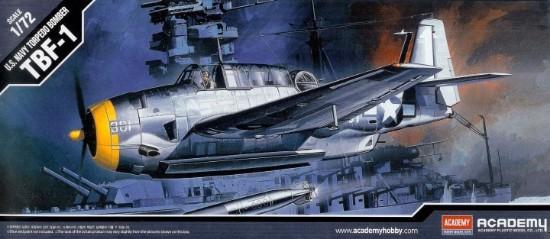 Picture of U.S. Navy Torpedo Bomber TBF-1