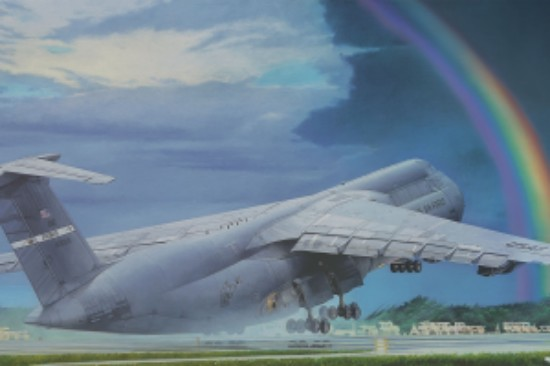 Picture of C-5B Galaxy transport