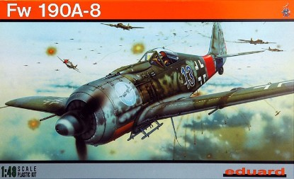 Picture of Fw 190A-8 German fighter