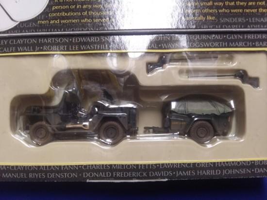 Picture of Vietnam-Jeep w/ machine gun & Trailer-US Army