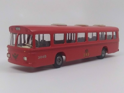 Picture of Scaina CR-76  Bus - DSB  red