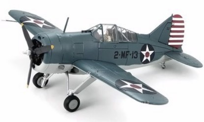 Picture of F2A-3 Buffalo Model, USMC, VMF-221