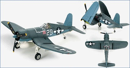"""Picture of F4U-1A Corsair USN VF-17 Jolly Rogers, """"White 29"""", Ira Kepford,  1944"""