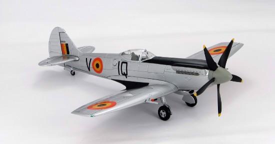 Picture of Spitfire Mx.XIVE Ecole De Chasse, Coxyde, Belgian AF 1950's