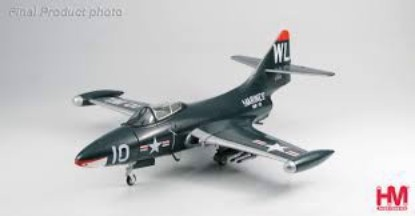 "Picture of Grumman F9F Panthers VMF-311 ""Ted Williams"""