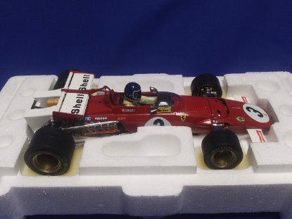 Picture of Ferrari 312B 1970 winner Grand Prix of Mexico