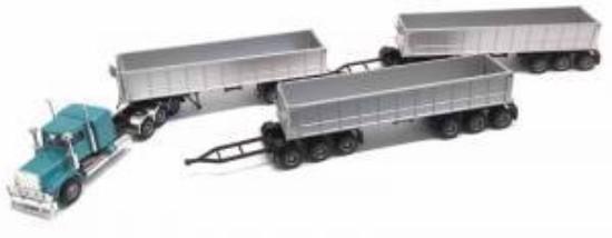 Picture of KW W-900, Australian Dump Road Train