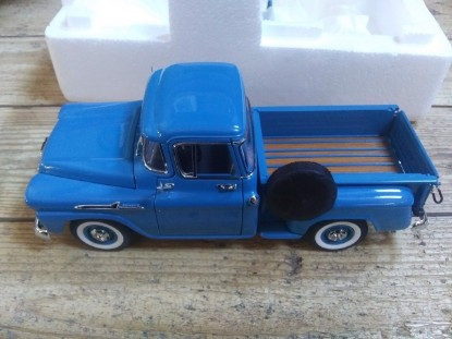 Picture of 1958 Chevrolet Apache Fleetside Pickup - blue