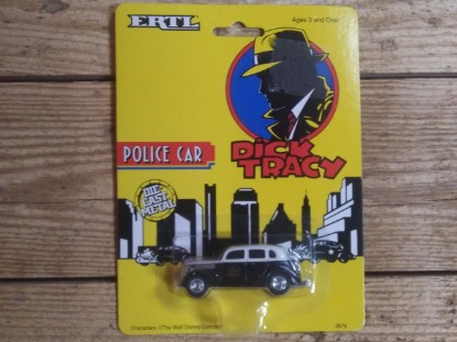 Picture of Dick Tracy police car