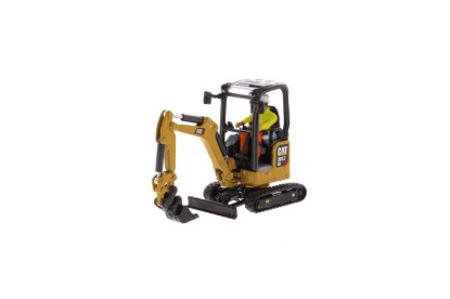 Picture of Cat 301.7 CR Mini Hydraulic Excavator - Next Generation   - With attachments