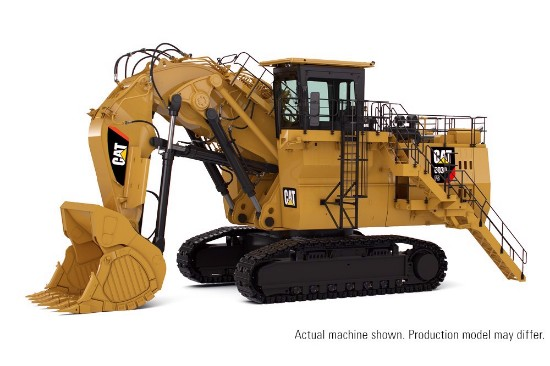 Picture of Caterpillar 6030 FS hydraulic mining shovel