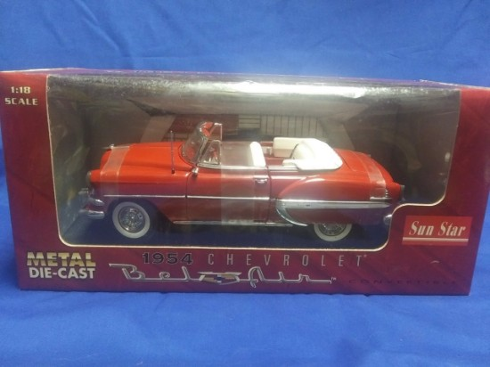 Picture of 1954 Chevrolet Bel Air convertible - red