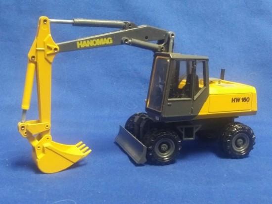 Picture of Hanomag HW 160 wheel excavator