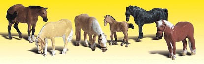 Picture of Farm Horses -  pkg(6)