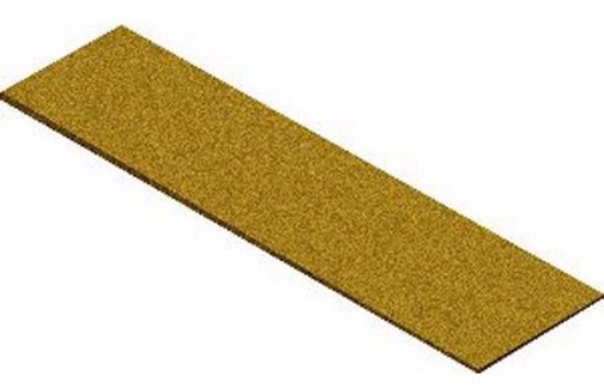 """Picture of Cork Roadbed Sheet  3 1/4"""" X 36"""""""