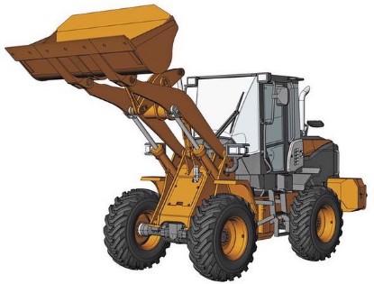 Picture of Hitachi ZW100-6 Wheel Loader   kit