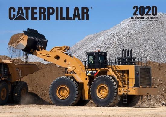 Picture of Caterpillar 2020 Calendar  16 month