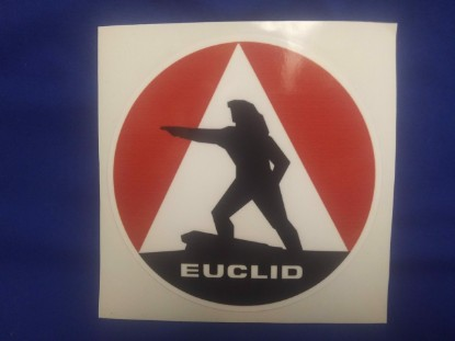 "Picture of Euclid sticker 10"" (240mm) diameter"