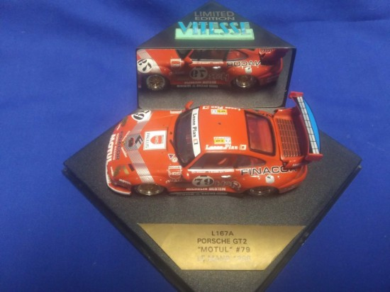 Picture of 1996 Winner Porsche 911 GT2  Motul#79  Race Car