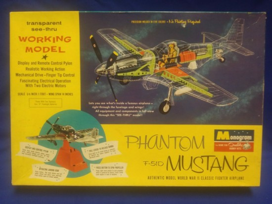 Picture of P-51D Phantom Mustang  kit