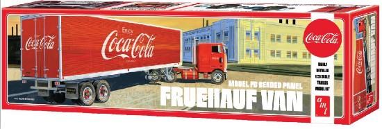 Picture of Fruehauf FB beaded pane  van trailer kit - COCA-COLA