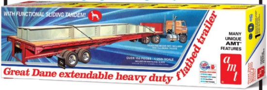 Picture of Great Dane extendable heavy duty flatbed trailer  kit