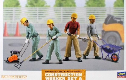 Picture of Construction workers set A   kit