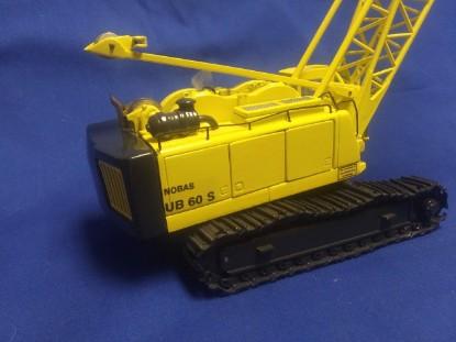 """Picture of Nobas UB60 S lattice boom crawler crane 16"""" boom"""