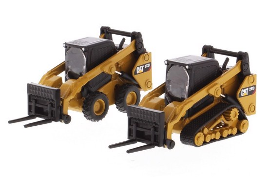 Picture of Caterpillar 272D2 Skid Steer and  297D2  Track Loader with Accessories