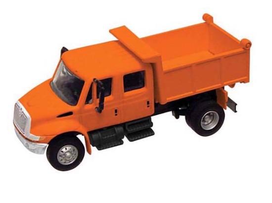 Picture of International  Dump Truck-orange