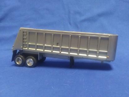 Picture of Benson 2 axle dump trailer - silver