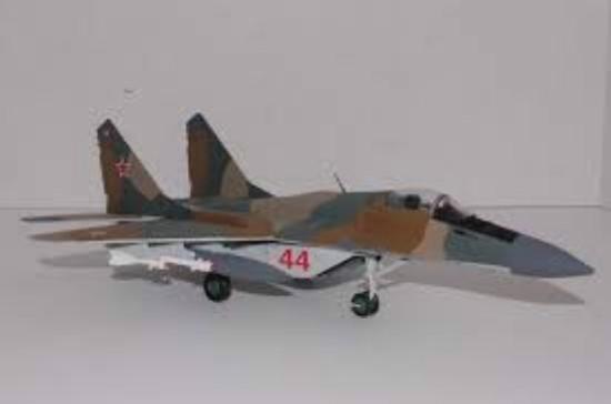 Picture of MIG 29 Fulcrum Soviet AF