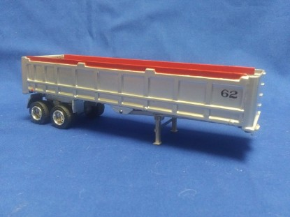 Picture of 2 axle A frame dump trailer - silver