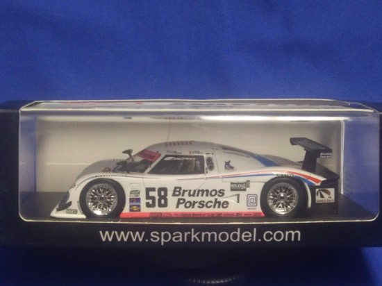 Picture of Riley MK  #58 Daytona winner in 2009  Bromos Porsche