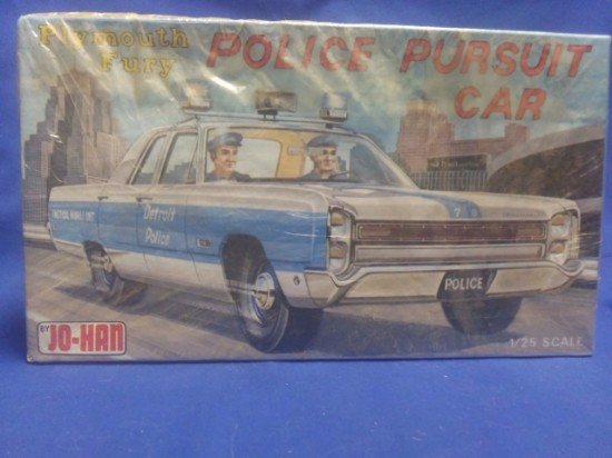 Picture of Plymouth Fury Detroit police pursuit car