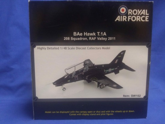Picture of BAE Hawk T1A 208 Sqn Royal Air Force RAF Valley 2011