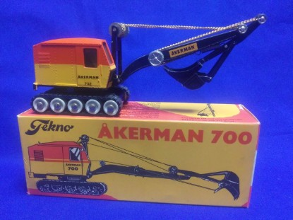 Picture of Akerman 752 cable hoe