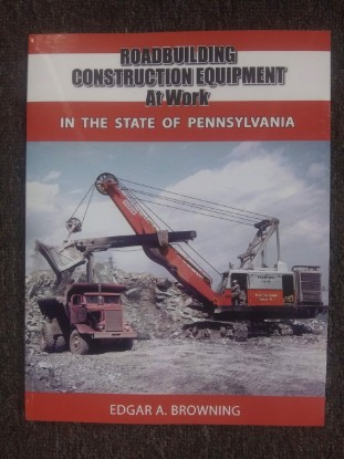 Picture of Roadbuilding Construction Equipment at Work - Pennsylvania State