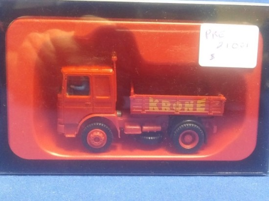 Picture of MAN Truck - Circus Krone with driver