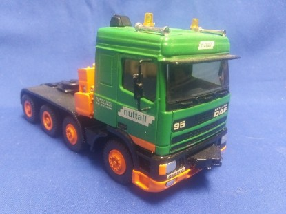 Picture of DAF 95 8x4 heavy haul tractor NUTTALL
