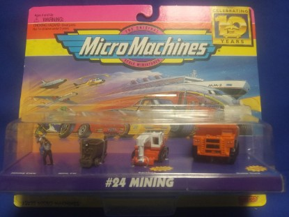 Picture of Micro Machines Vehicles #24 Mining Construction Collection Set