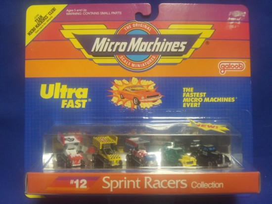 Picture of Micro Machines Ultra Fast Sprint Racers Collection #12