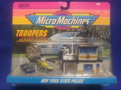 Picture of Micro Machines #6 New York State Police