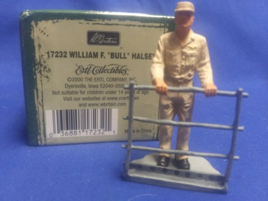 """Picture of WWII Leaders William F. """"Bull"""" Halsey"""