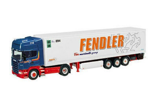 Picture of Scania R with refrigerated trailer FENDLER