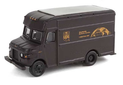 Picture of UPS Package Car - United Parcel Service Bow Tie Shield Logo