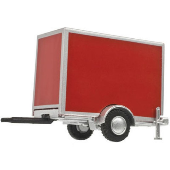 Picture of Standard Single-Axle Box Trailer - RED