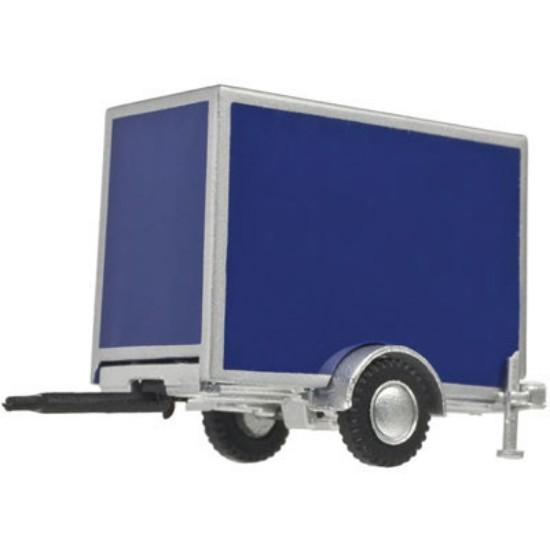 Picture of Standard Single-Axle Box Trailer - BLUE