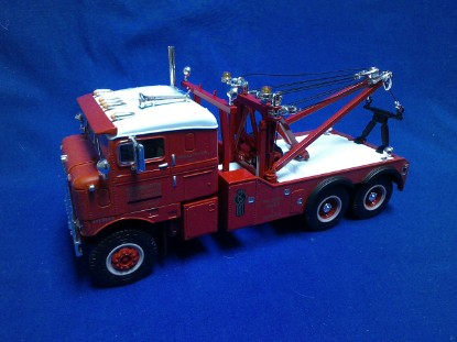 Picture of 1953 Kenworth Bull-nose Tow Truck , KW Factory